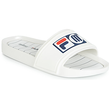 Shoes Women Tap-dancing Melissa SLIDE + FILA White