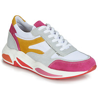 Shoes Women Low top trainers André ROLLO White / Pink
