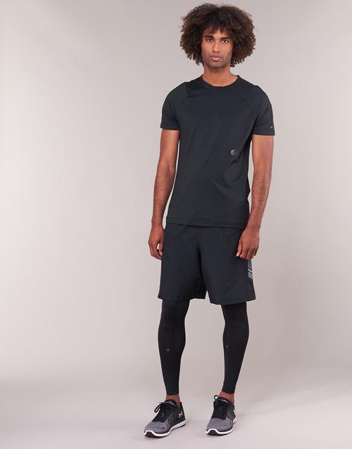 material Men leggings Under Armour RUSH LEGGING Black