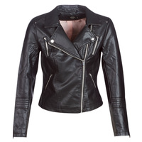 material Women Leather jackets / Imitation leather Only ONLGEMMA Black