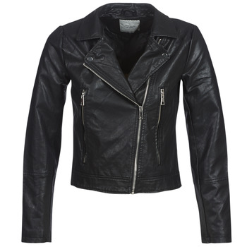 material Women Leather jackets / Imitation leather JDY JDYILDE Black
