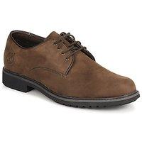 Shoes Men Derby shoes Timberland EK STORMBUCK PLAIN TOE OXFORD Brown