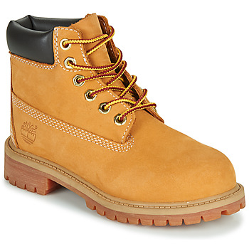 Shoes Children Mid boots Timberland 6 IN PREMIUM WP BOOT Cognac