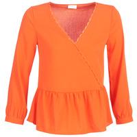 material Women Blouses Vila VIROSSIE Orange
