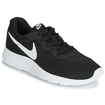 Shoes Men Low top trainers Nike TANJUN Black / White