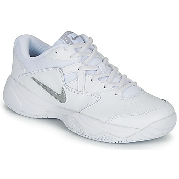 Shoes Women Tennis shoes Nike COURT LITE 2 W White / Silver
