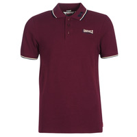 material Men short-sleeved polo shirts Lonsdale LION Red