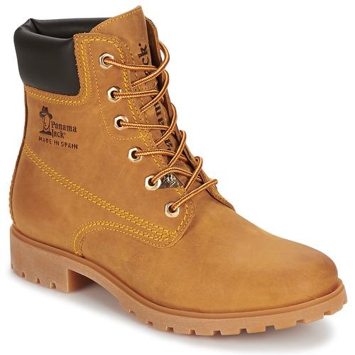 Shoes Women Mid boots Panama Jack PANAMA Yellow
