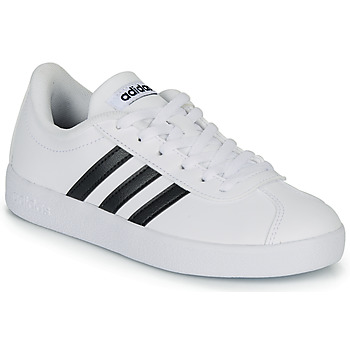 Shoes Children Low top trainers adidas Originals VL COURT K BLC White
