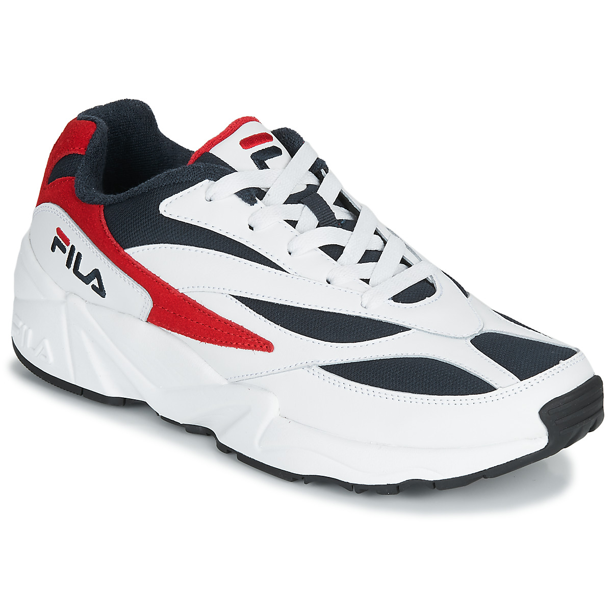Fila V94M LOW White / Red - Fast
