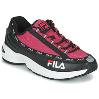 Shoes Women Low top trainers Fila DSTR97 Black / Pink