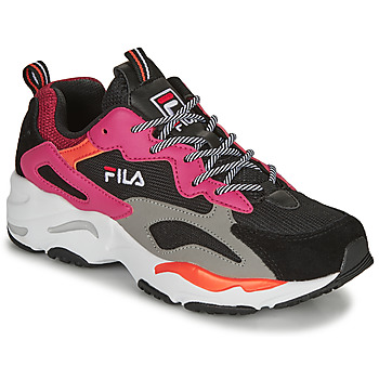 Shoes Women Low top trainers Fila RAY TRACER WMN Black / Pink