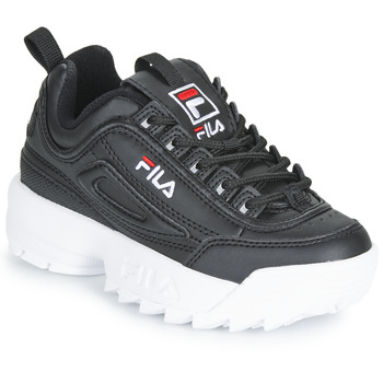 Shoes Children Low top trainers Fila DISRUPTOR KIDS Black