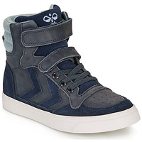 Shoes Children High top trainers Hummel STADIL WINTER HIGH JR Blue
