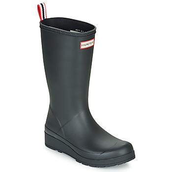Shoes Women Wellington boots Hunter ORIGINAL PLAY BOOT TALL Black
