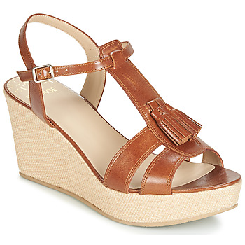 Shoes Women Sandals Bocage HERLE Cognac