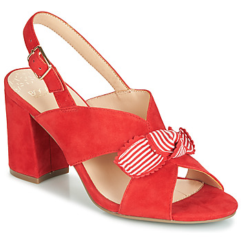 Shoes Women Sandals Bocage PAULIN Red