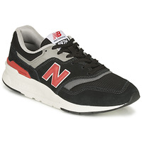 Shoes Low top trainers New Balance 997 Black / Red