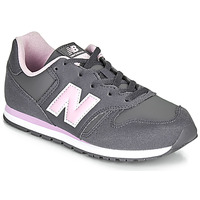 Shoes Girl Low top trainers New Balance 373 Grey / Pink