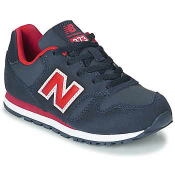 Shoes Boy Low top trainers New Balance 373 Blue / Red