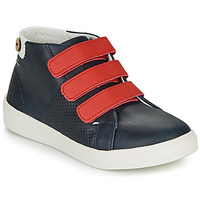 Shoes Girl Low top trainers Faguo ASPENLOW LEATHER Blue