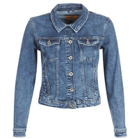 material Women Denim jackets Only ONLTIA Blue / Medium