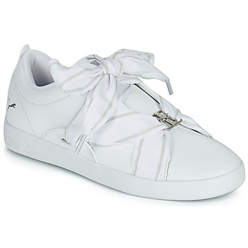Shoes Women Low top trainers Puma SMASH WN BUCKLE White