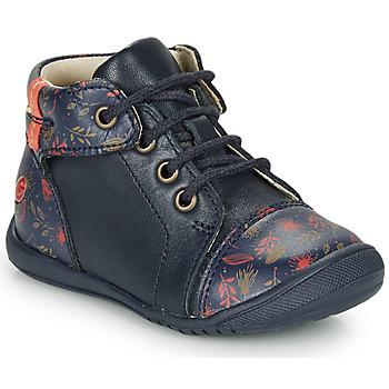 Shoes Girl Mid boots GBB OLSA Blue