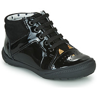 Shoes Girl High top trainers Catimini CIBELLE Black