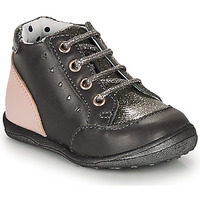 Shoes Girl High top trainers Catimini CLELIA Vtv / Grey