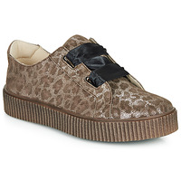 Shoes Girl Low top trainers Catimini CAVANILLE Leopard