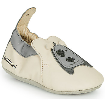 Shoes Boy Slippers Catimini CYMEON Vte / Beige-grey