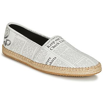 Shoes Men Espadrilles John Galliano 6715 White