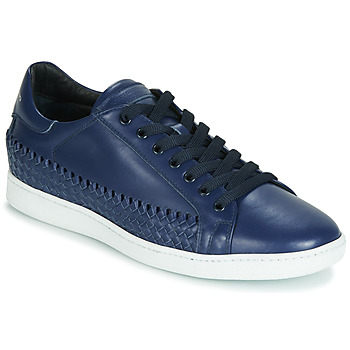 Shoes Men Low top trainers John Galliano 6712 Blue