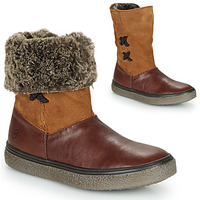 Shoes Girl Mid boots GBB OLINETTE Brown