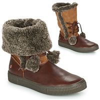 Shoes Girl Boots GBB NOUSTIK Brown
