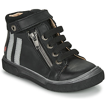 Shoes Boy High top trainers GBB OMAHO Black