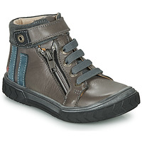 Shoes Boy High top trainers GBB OMAHO Grey