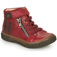 Shoes Boy High top trainers GBB OMAHO Red