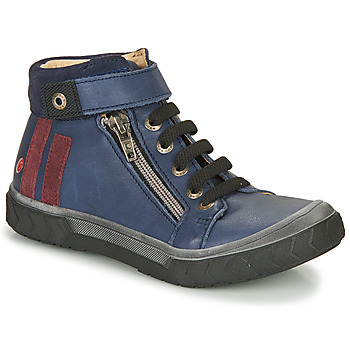 Shoes Boy High top trainers GBB OMAHO Blue