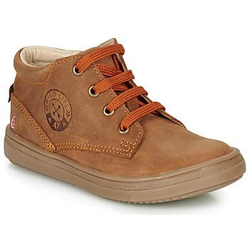 Shoes Boy High top trainers GBB NINO Brown