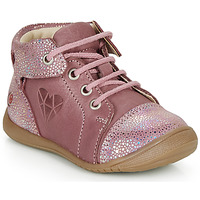Shoes Girl High top trainers GBB ORENA Pink