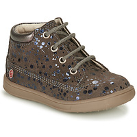 Shoes Girl High top trainers GBB NINON Taupe