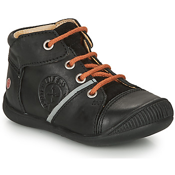 Shoes Boy Mid boots GBB OULOU Black