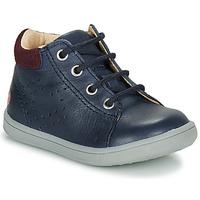 Shoes Boy High top trainers GBB FOLLIO Marine