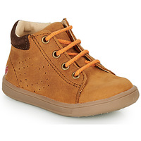 Shoes Boy High top trainers GBB FOLLIO Cognac