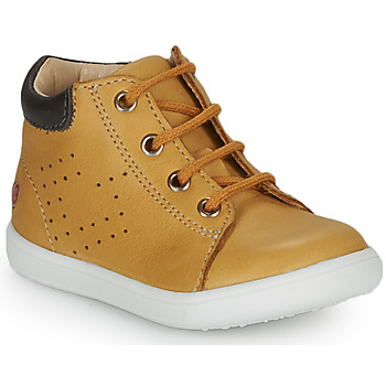 Shoes Boy High top trainers GBB FOLLIO Yellow