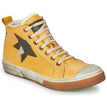 Shoes Boy High top trainers GBB OCALIAN Yellow