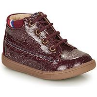 Shoes Girl Mid boots GBB FRANCETTE Bordeaux