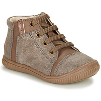 Shoes Girl High top trainers GBB OUNA Beige